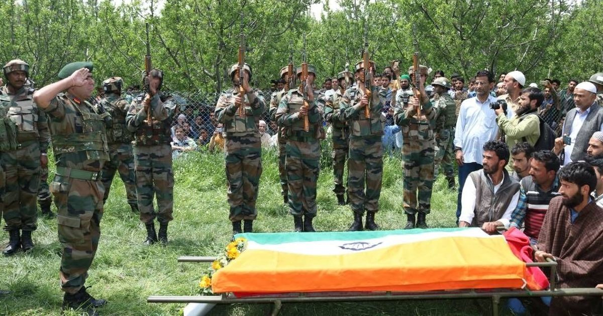 View from Kashmir Observer: Young army officer's killing shows how both sides have been brutalised