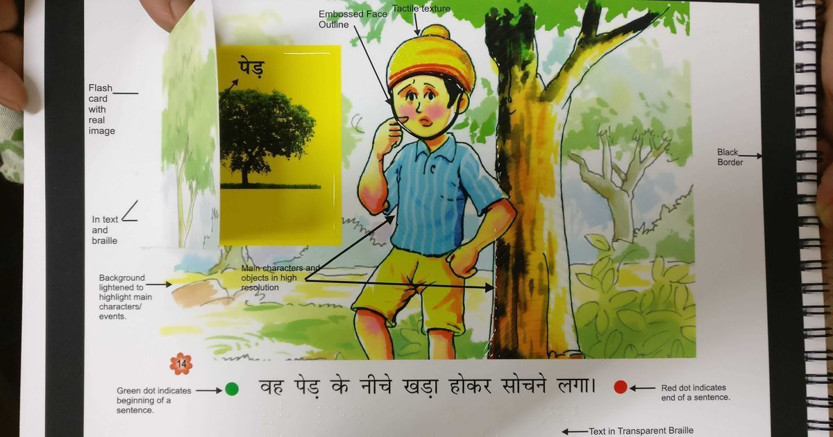 India has designed a revolutionary new set of accessible school books, but printers come up short