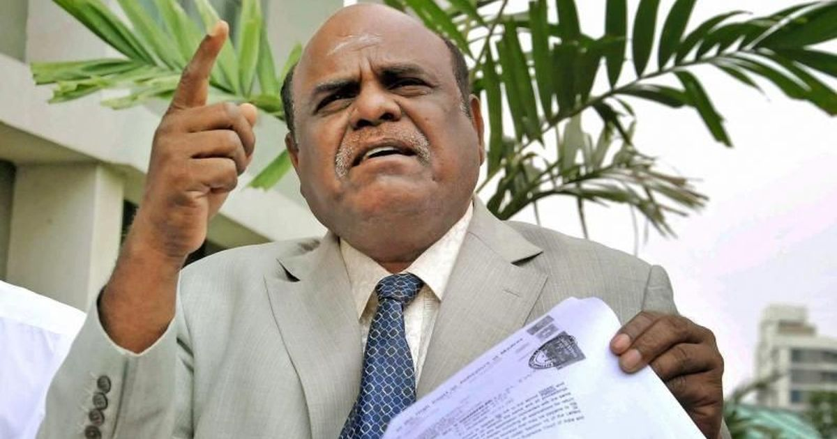 Former Calcutta High Court Judge CS Karnan released from jail
