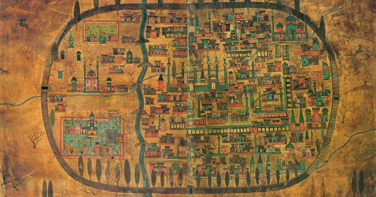 In photos: 16th-century Persia through the maps of Ottoman polymath Matrakçı Nasuh