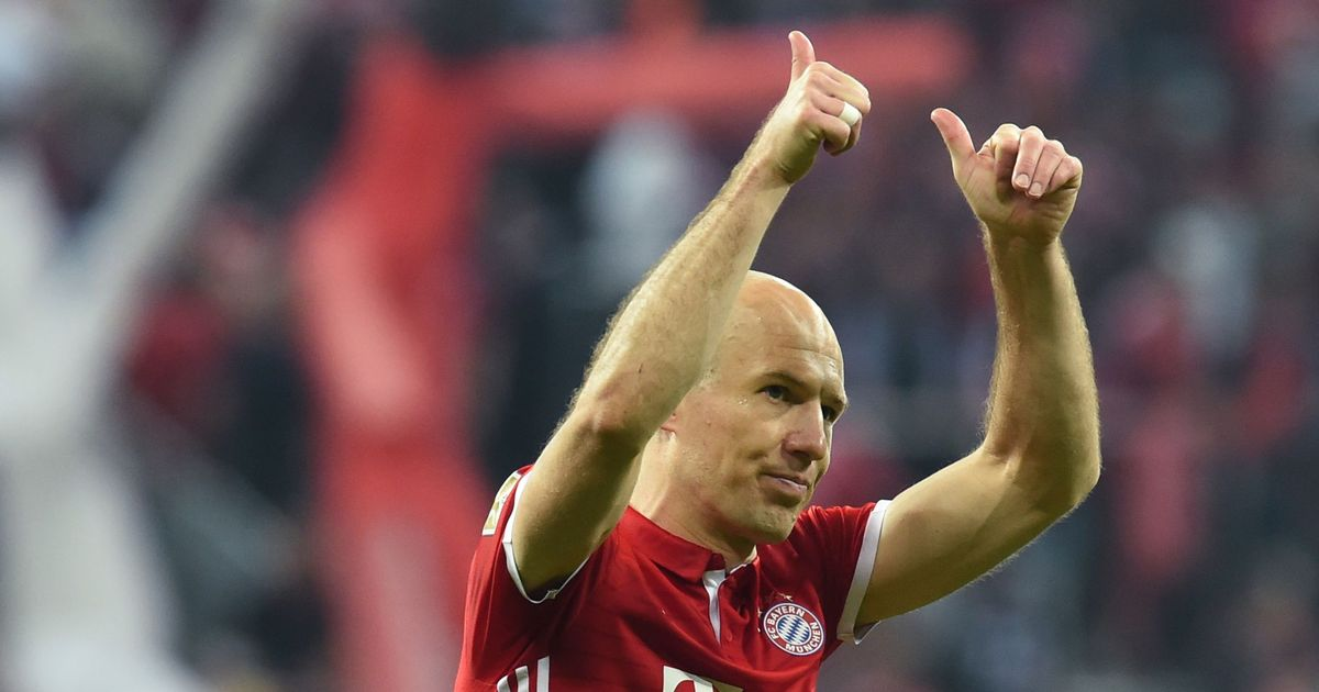Dutch great Arjen Robben announces retirement from football after ending spell with Bayern Munich