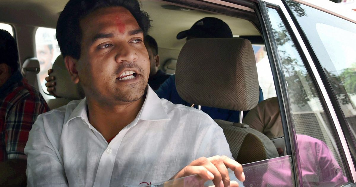 Kejriwal's wife comes forward to slams Kapil Mishra