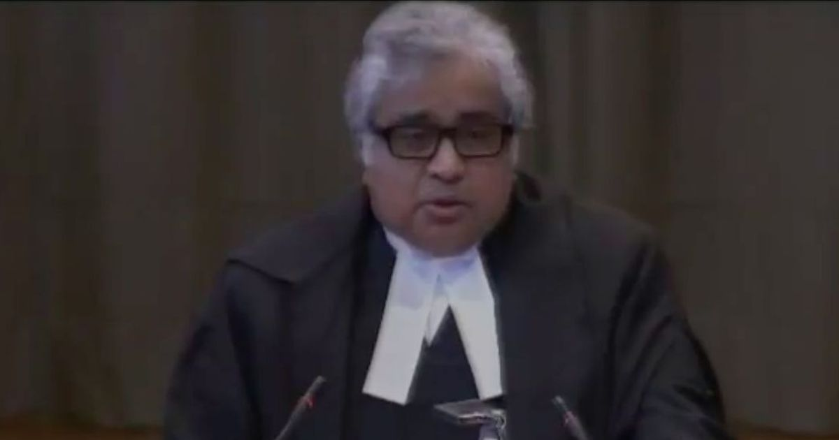 How much did Govt pay Harish Salve to fight Jadhav's case ?