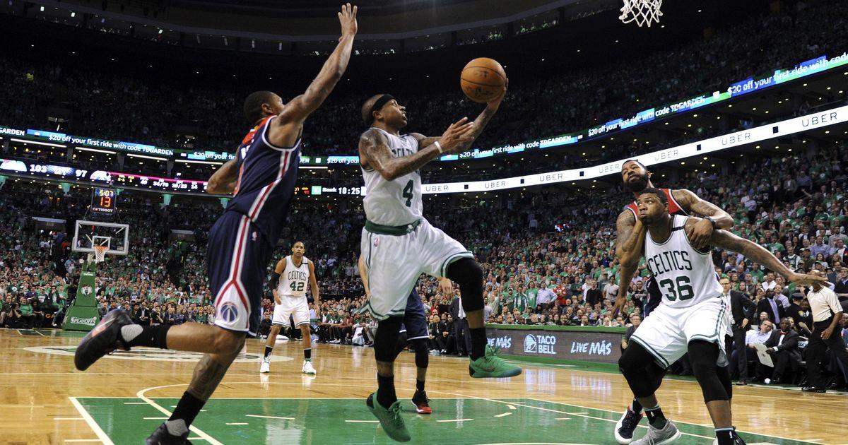 NBA Playoffs: Boston Celtics beat Washington Wizards to win Eastern Conference semi-final series 4-3