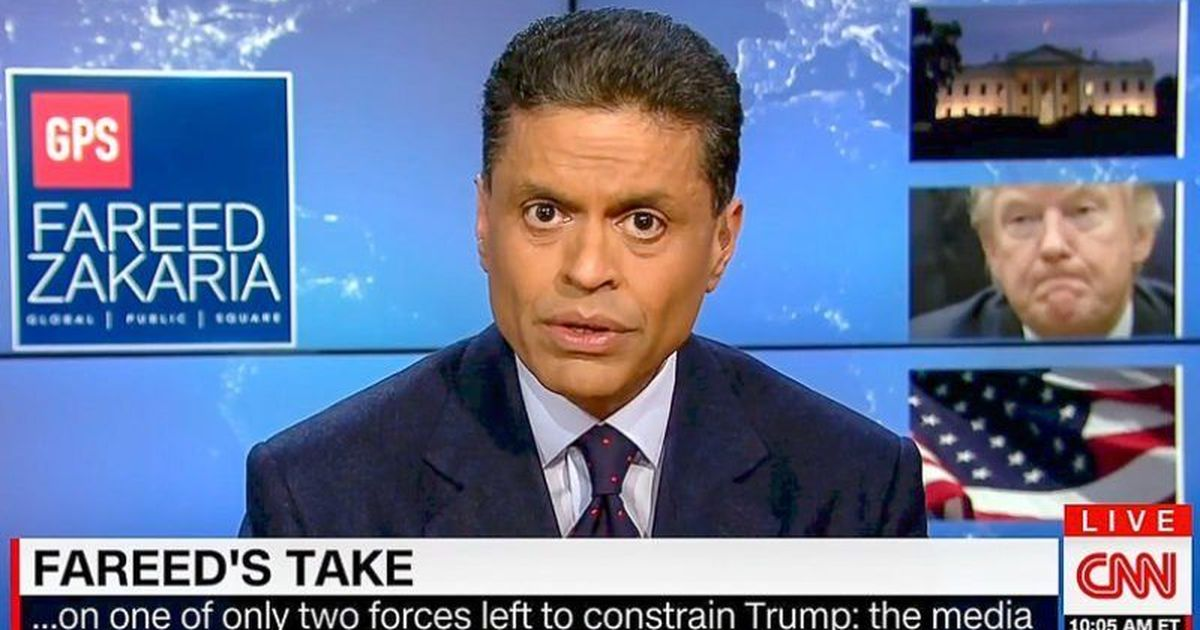Watch: Fareed Zakaria's message on how the media should cover the government is true for India too