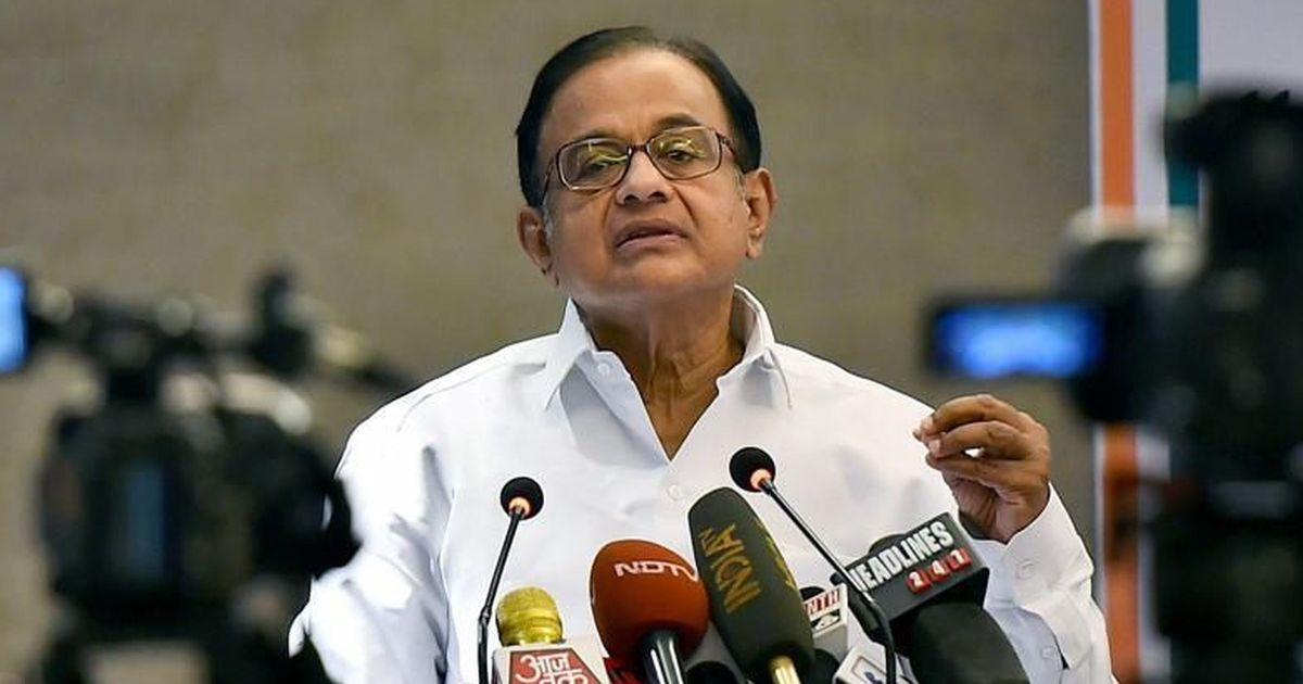 Proposed changes in civil services allocation unconstitutional, executive has no role: P Chidambaram