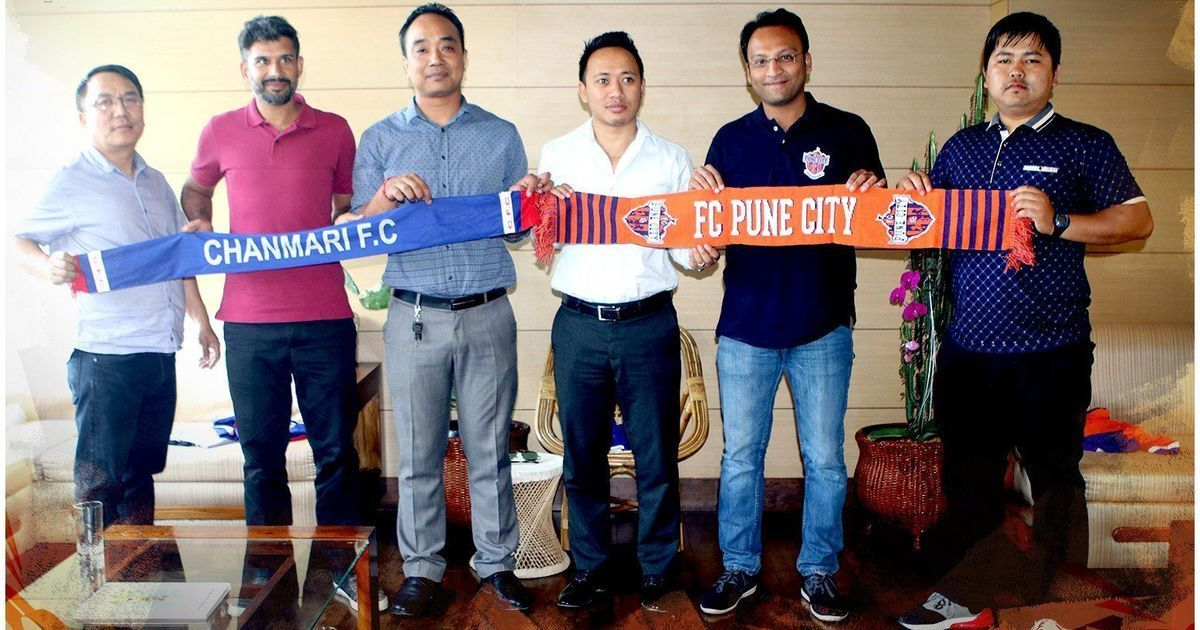 Pune City enters into an alliance with Mizo Premier League champions Chanmari FC