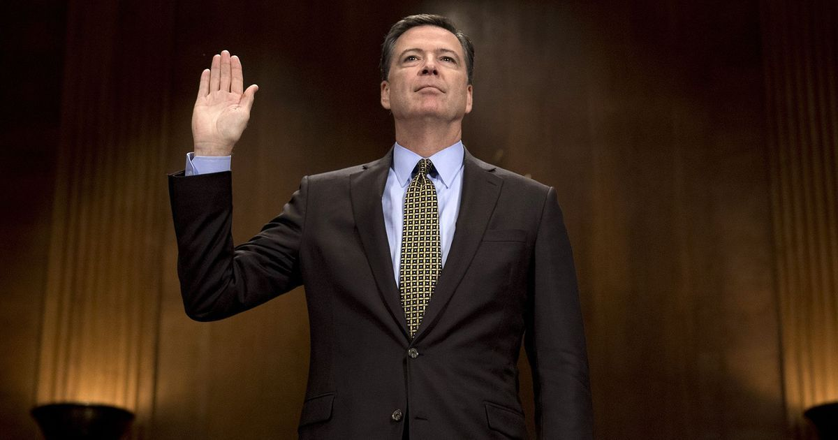 Trump administration lied about me and defamed us, says former FBI director James Comey