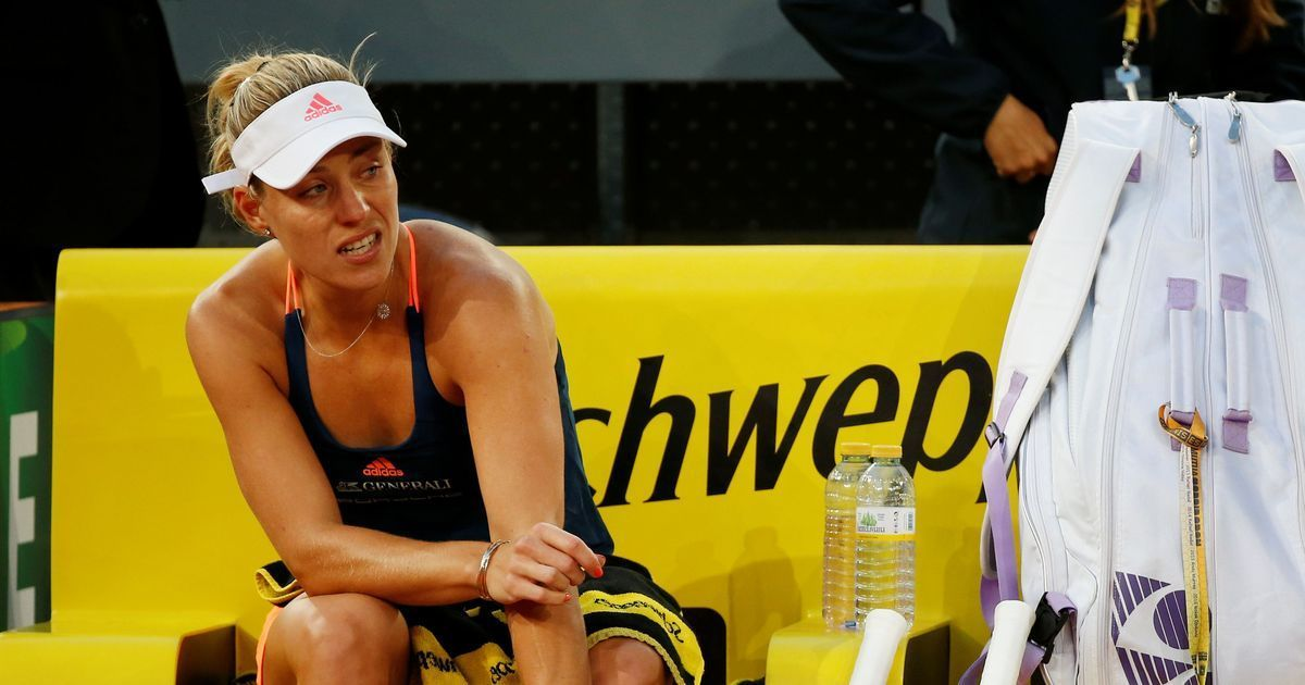 World No 1 Angelique Kerber crashes out in second round of Rome Masters