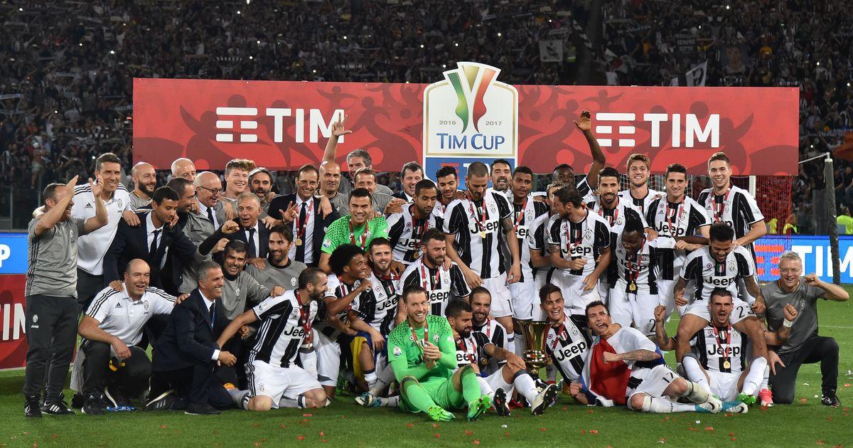 Treble-chasing Juventus win record third successive Italian Cup