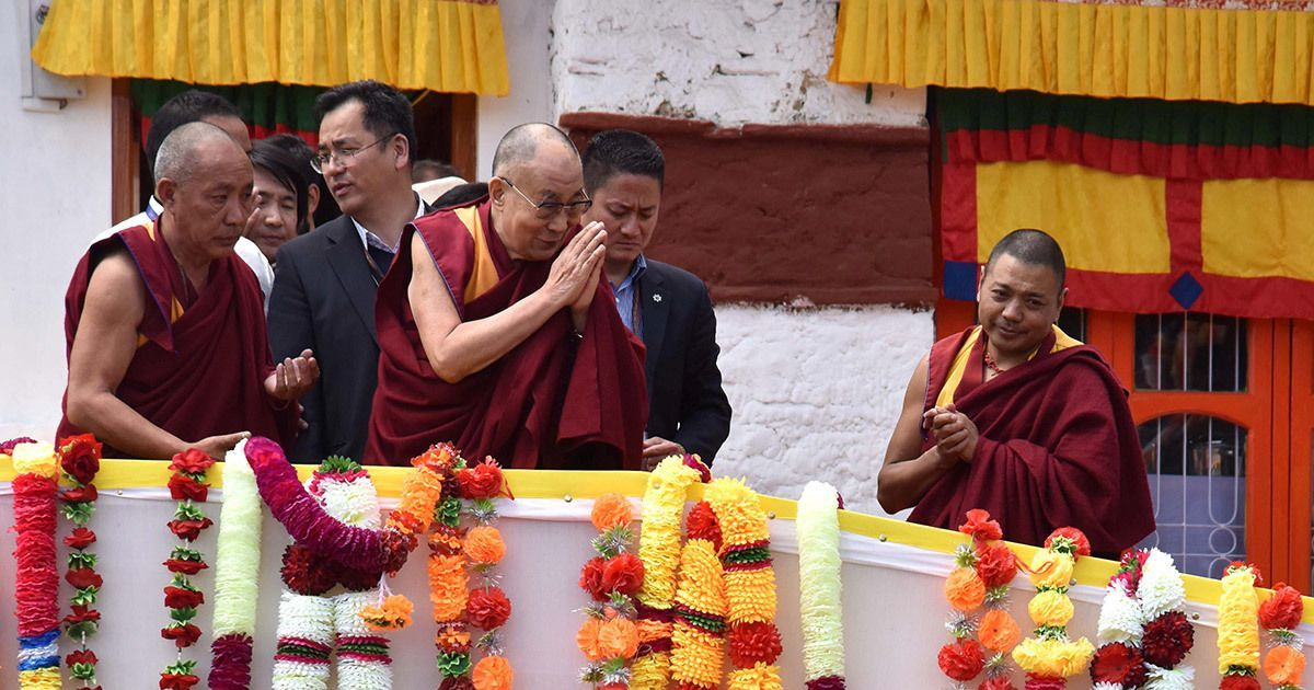India's stance 'clear', Dalai Lama free to carry out religious events