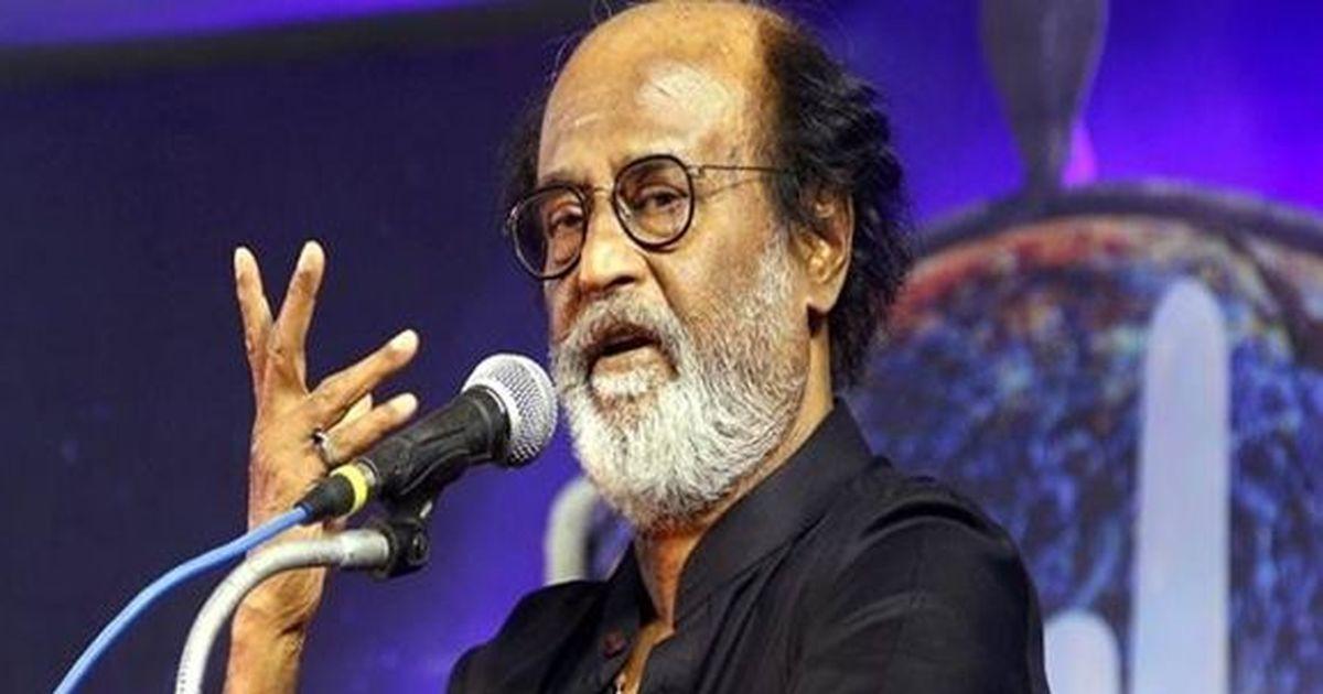 तमिलनाडु सरकार फिल्म जगत को दोहरे करों के बोझ से मुक्त कर दे : रजनीकांत