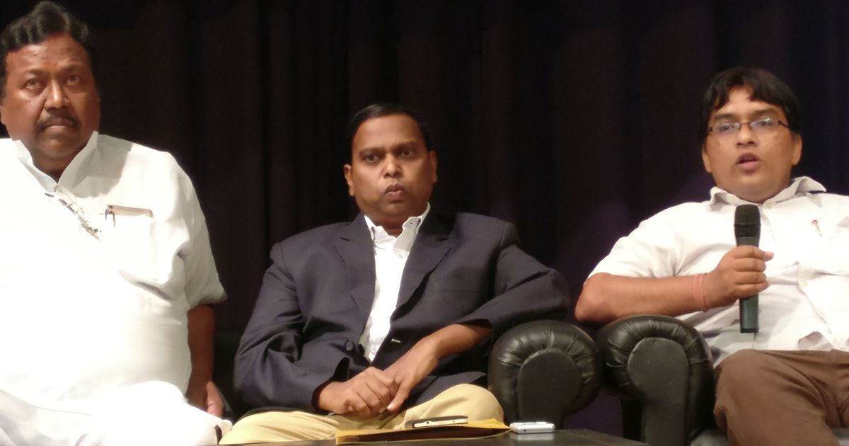 Chhattisgarh cop Kalluri attends IIMC event amid protests, says he wants to 'change perceptions'