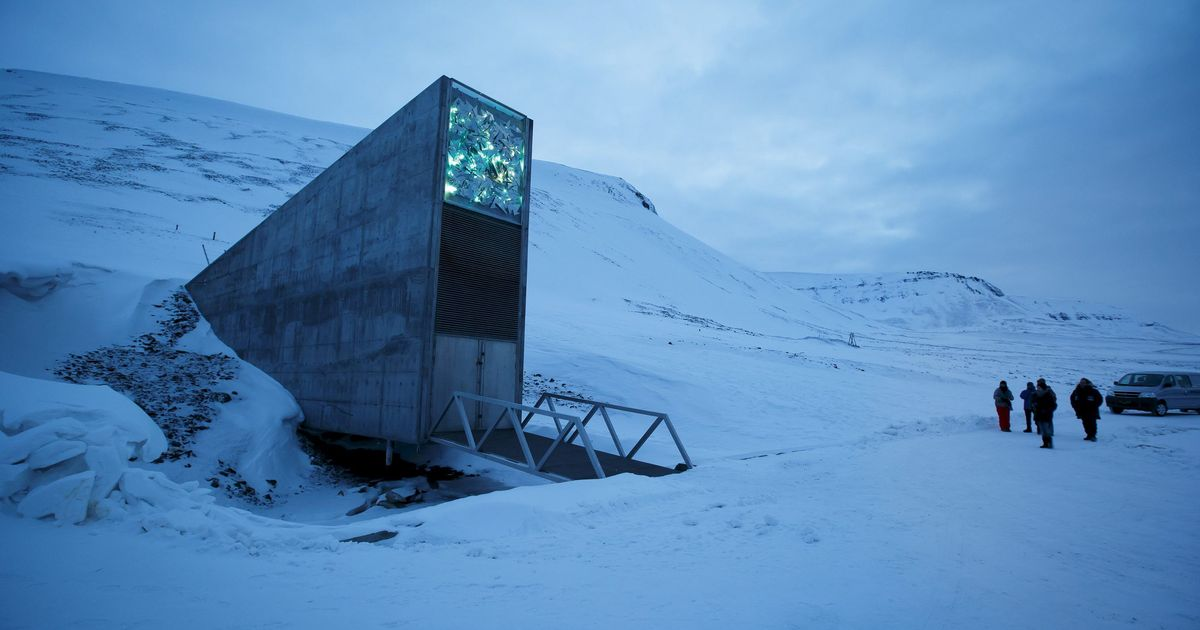 An Arctic seed vault holding emergency grains for the world now faces climate pressures of its own
