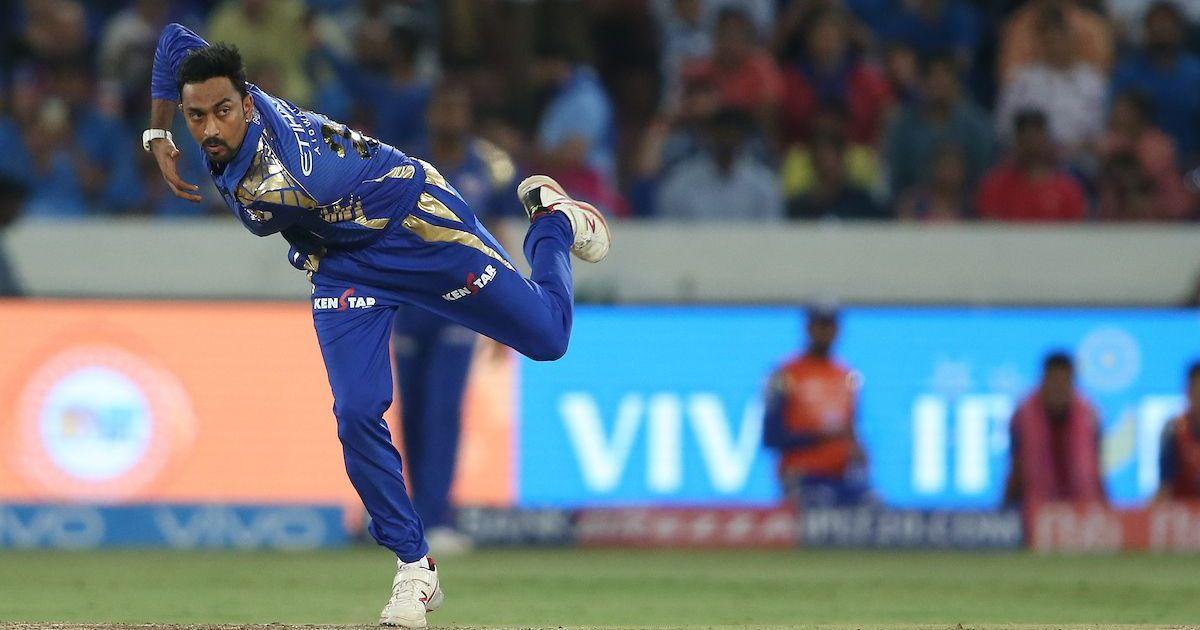Krunal's bowling was pretty impressive as well. Shaun Roy/Sportzpics/IPL