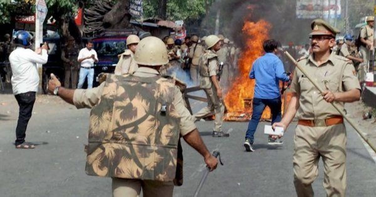 6 hurt in clash in UP village after BSP chief's visit