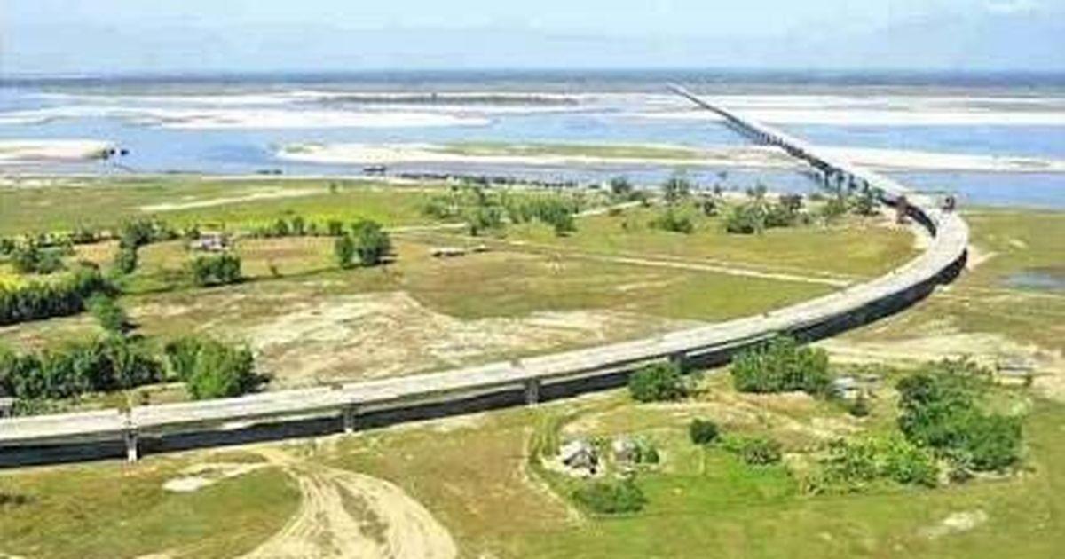 Modi opens India's longest bridge