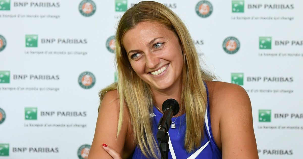 Emotional Kvitova wins 'twice' on French Open return
