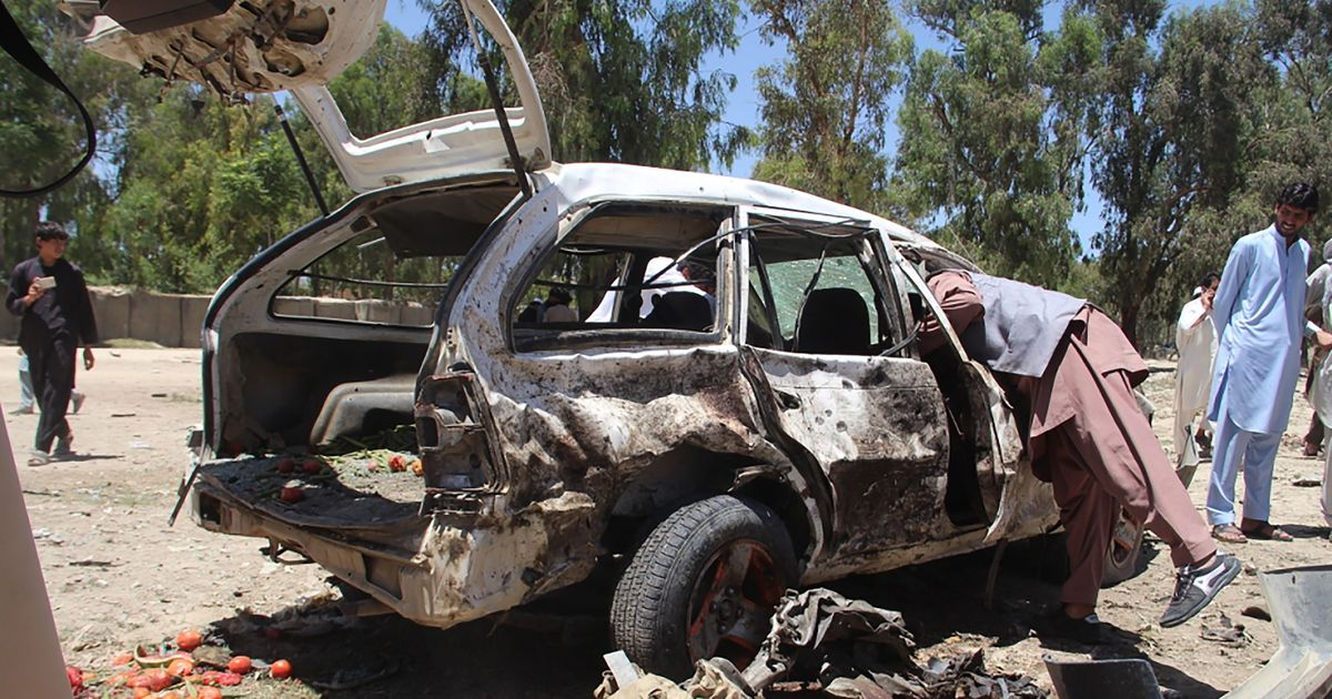 Auto bomber kills 18 in east Afghanistan on first day of Ramadan