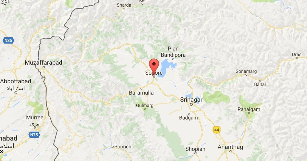 J&K: Two terrorists killed in encounter with security forces in Sopore