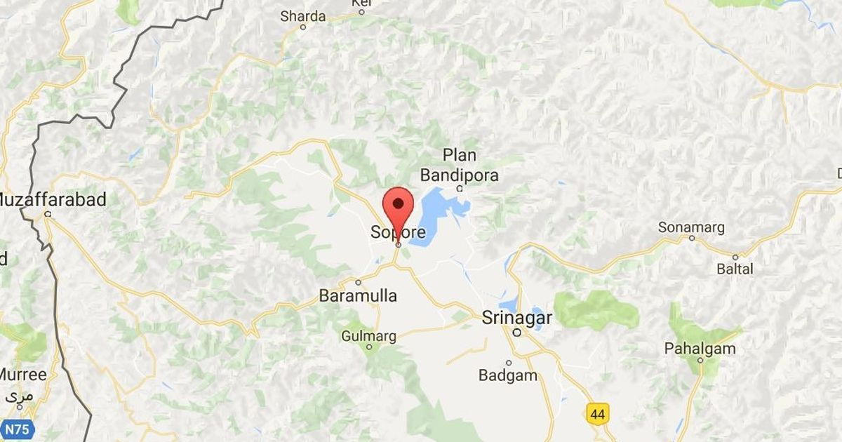 Jammu and Kashmir: Suspected militant killed on the outskirts of Sopore town in Baramulla
