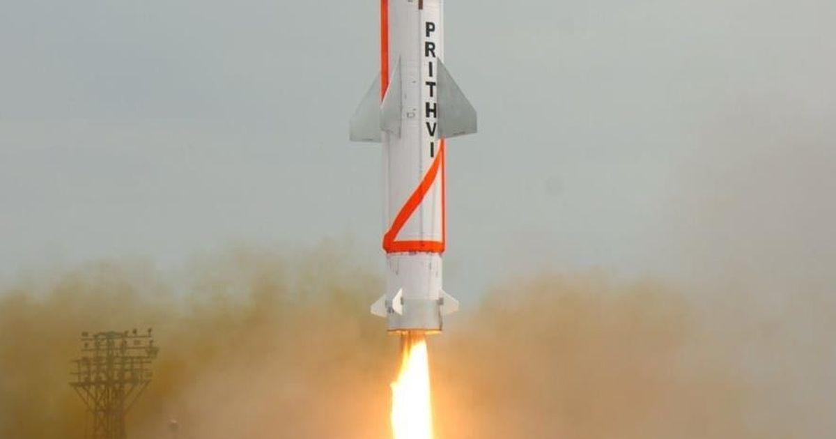 परमाणु हथियार ले जाने में सक्षम पृथ्वी-2 का सफल परीक्षण