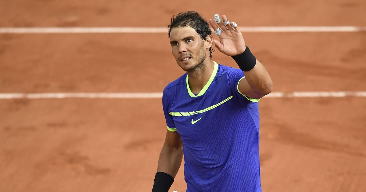 Rafael Nadal demolishes Nikoloz Basilashvili