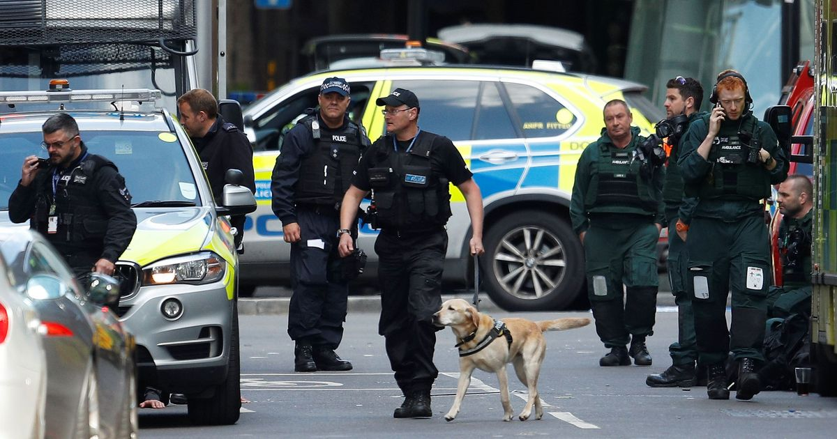 12 arrested after seven die in London attacks, Theresa May says election won't be postponed