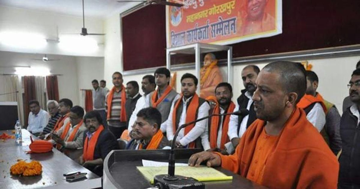 As Adityanath's Hindu Yuva Vahini grows in influence, clashes with the BJP are on the