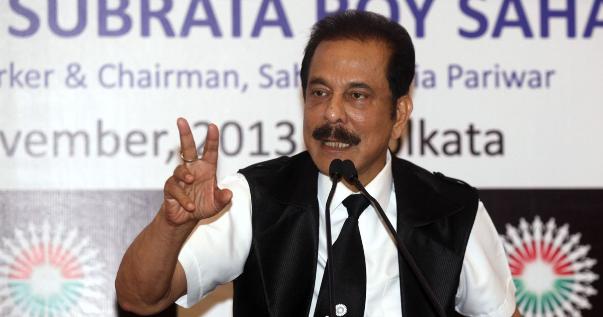 Sahara chief Subrata Roy wants exemptions from court appearance to arrange money
