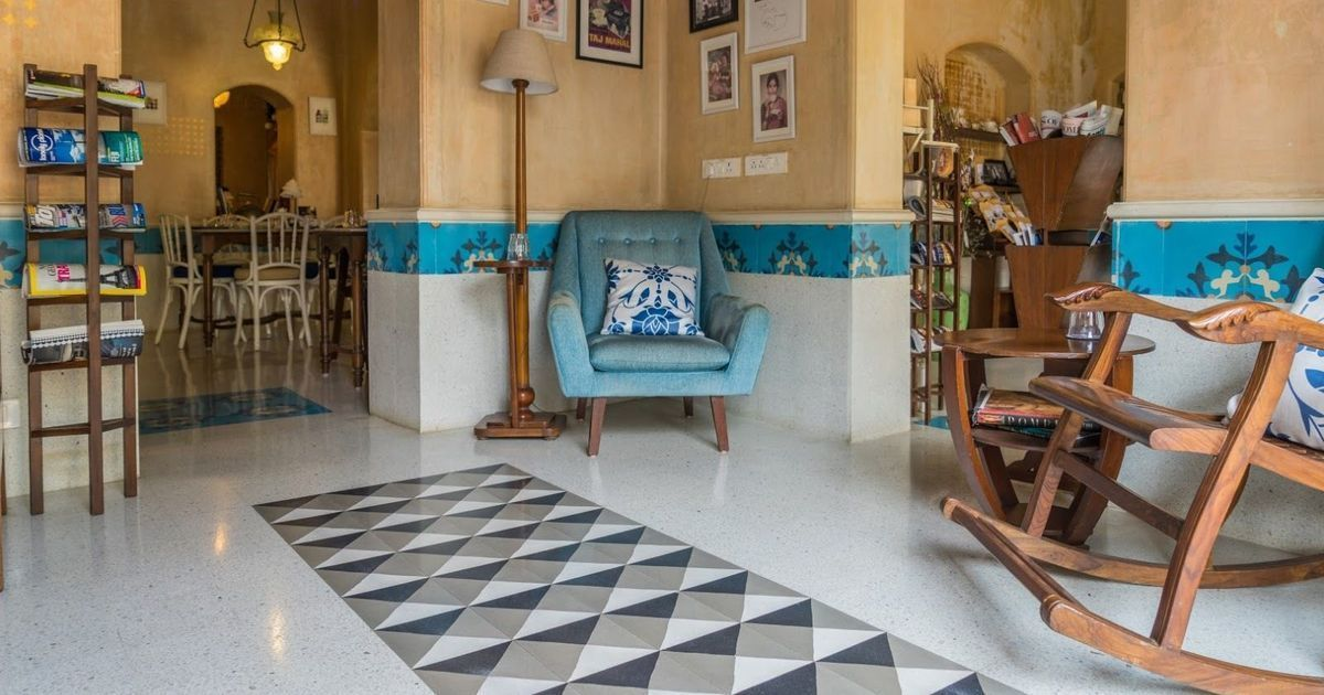A 95-year-old tile company is handcrafting Instagram-worthy floors for India's trendiest cafes