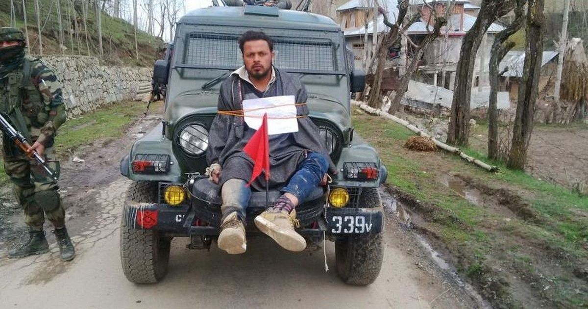 J&K government asked to pay Rs 10 lakh compensation to man used as a human shield