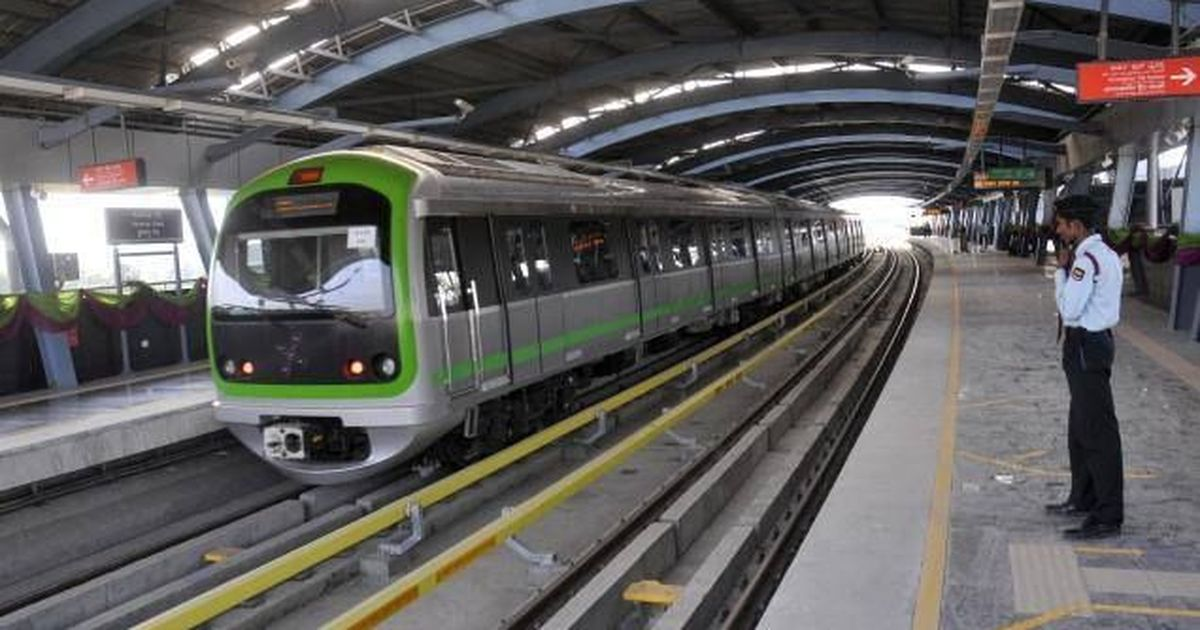 bengaluru u2019s namma metro services resumed after bmrcl