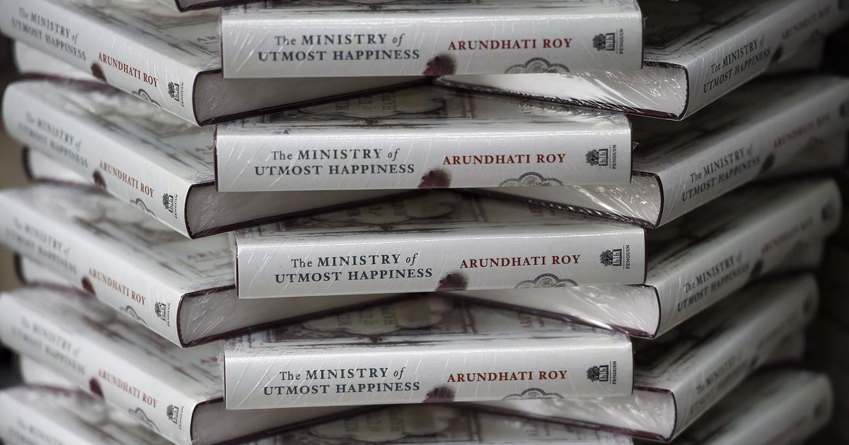Arundhati Roy's new book has gone straight into the Ministry of Utmost Media Criticism