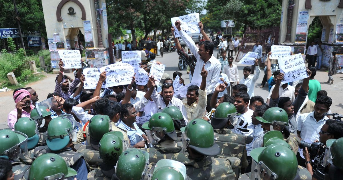 Muzzling campus politics: Student activists in Bengal, Telangana protest new rules, restrictions