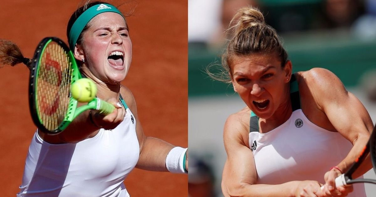 Seasoned Simona Halep takes on upcoming Jelena Ostapenko in a battle of firsts at French Open final