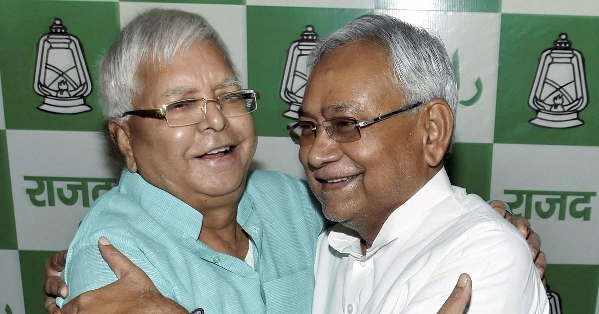 Get ready for 'grand alliance' at the centre, says Lalu Prasad Yadav