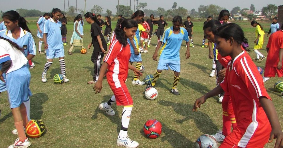 Bend it like Bihar: Young girls are joining football clubs to resist child marriage