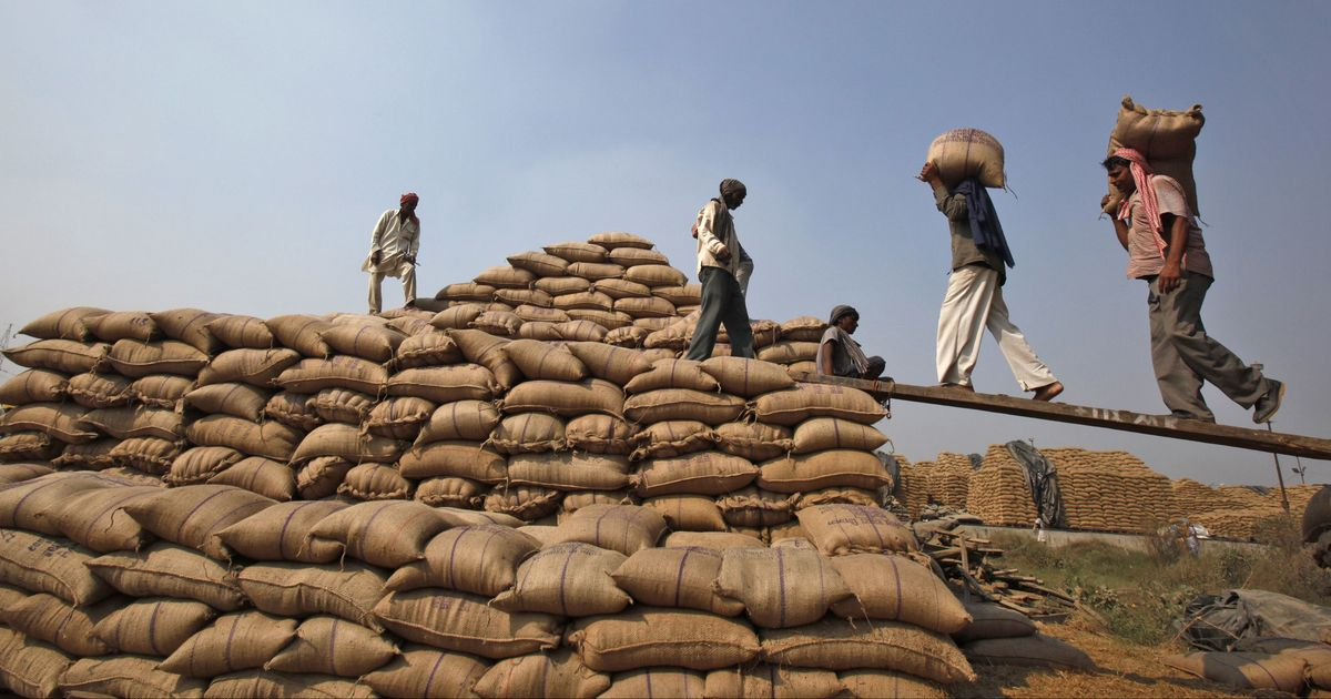 Govt pegs 2.8% fall in kharif foodgrain output at 134.67 mt