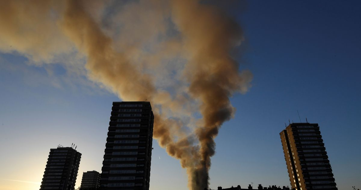 London high-rise fire toll rises to 12, over 70 injured