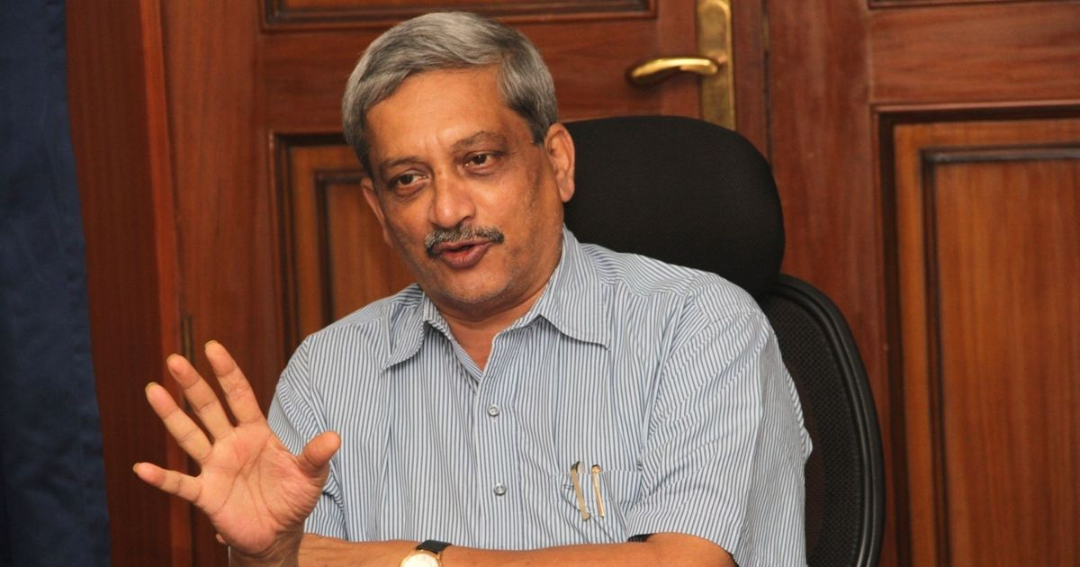 Being defence minister is a thankless job, says Goa CM Manohar Parrikar