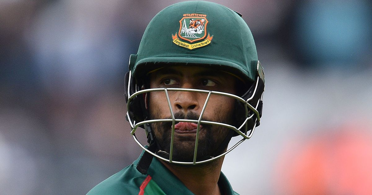 Bangladesh's Tamim Iqbal ruled out of Asia Cup after injury heroics