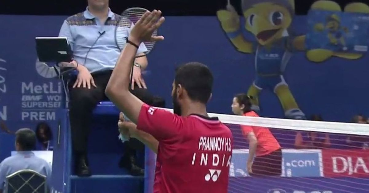 HS Prannoy upsets Chen Long to join K Srikanth in the Indonesia Superseries semis