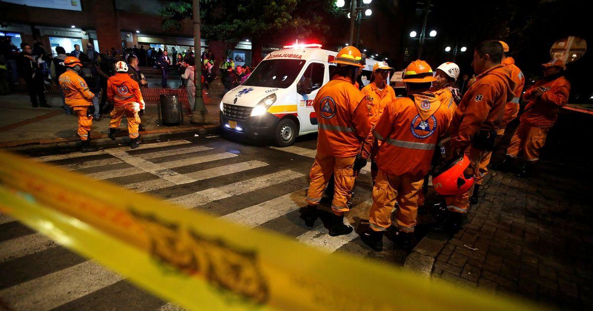 Three killed in blast at upscale Bogota mall
