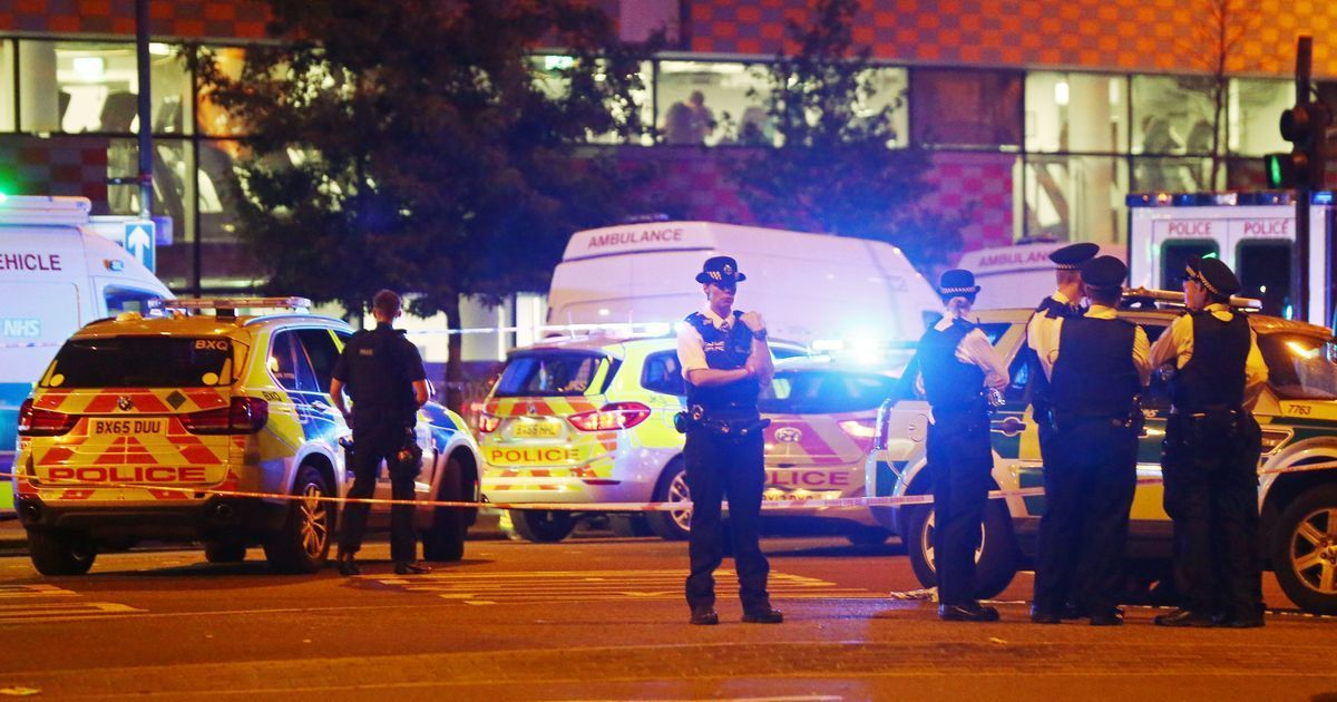 One killed, eight injured after van runs over pedestrians near two mosques in London