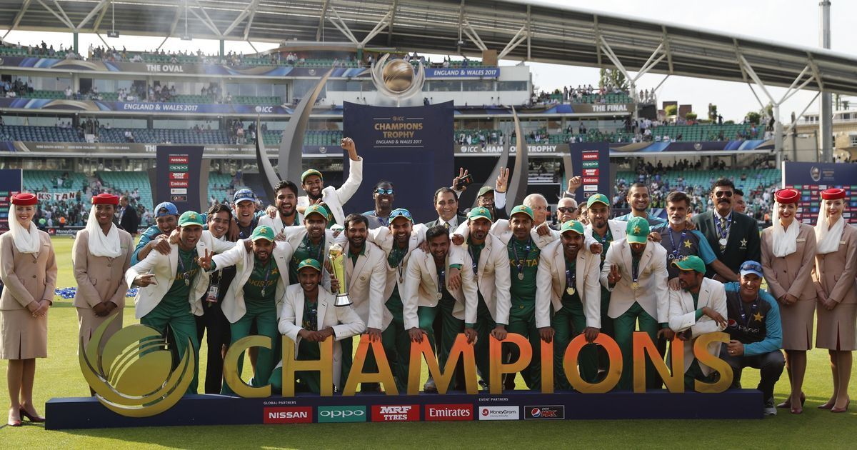 Police arrest 15 men for 'celebrating' Pakistan win over India