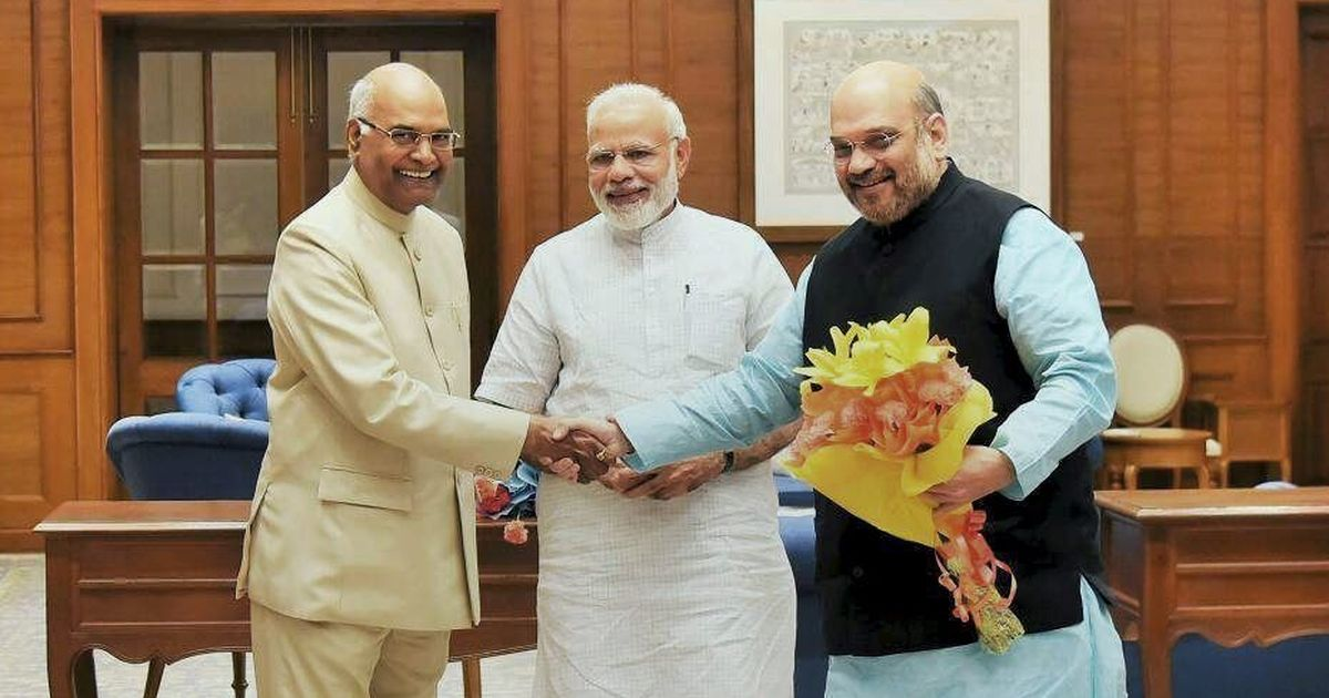 The president's men: Three people close to PMO will take key posts in Kovind's Rashtrapati Bhavan
