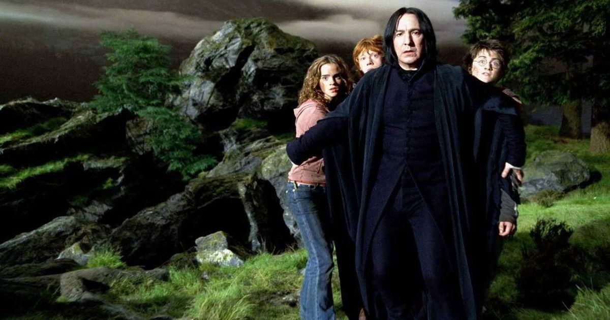 The Harry Potter films gave us Alan Rickman as Severus Snape but aren't a patch on the books