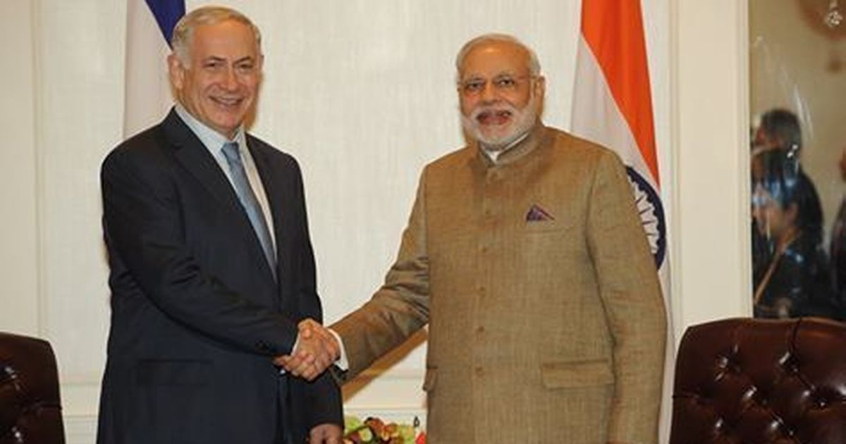 Israel PM Netanyahu welcomes 'friend' Modi, calls Indian PM great world leader