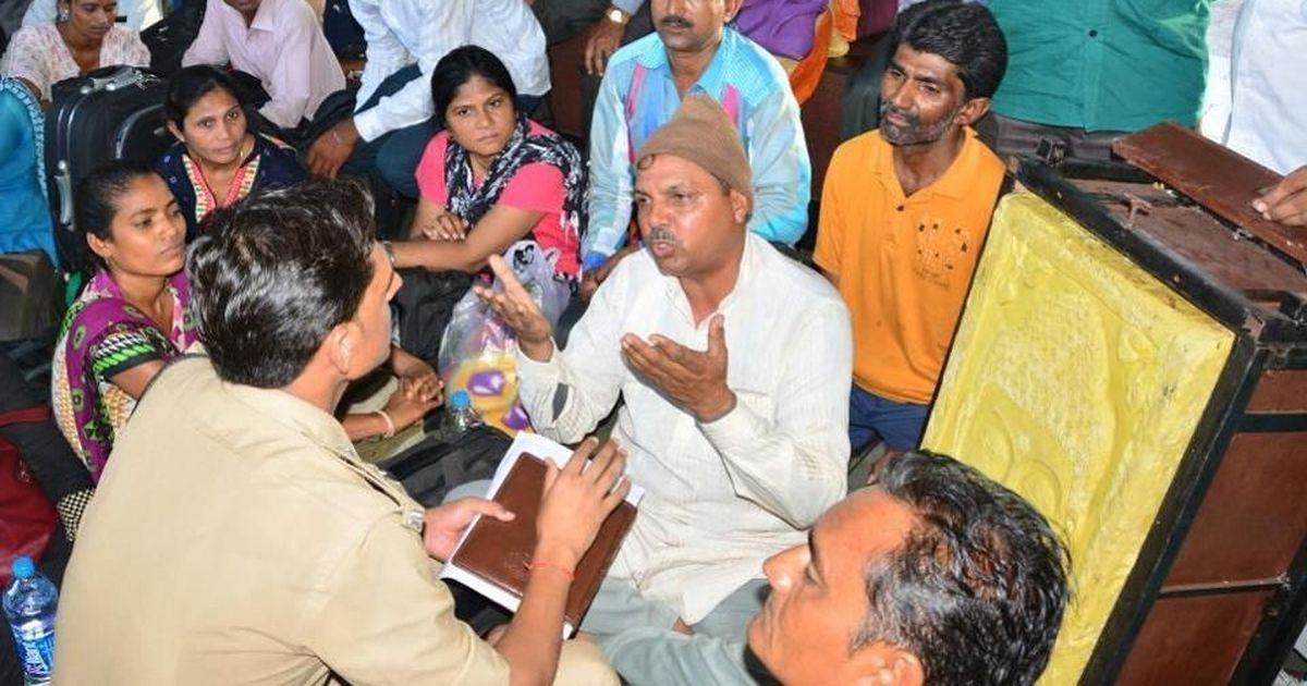 Uttar Pradesh police detain Dalit protesters who wanted to present Adityanath with giant bar of soap